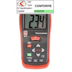Pack Thermomètre Vérifié